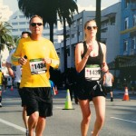 Weston & Sarah Jolly Running Marathon