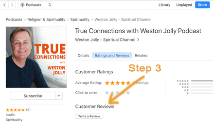 Review: True Connections with Weston Jolly